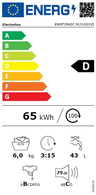 Obrázek galerie pro produkt Electrolux EW8T3562C PerfectCare 800 Parní pračka s vrchním plněním, A+++ -40%, 6kg