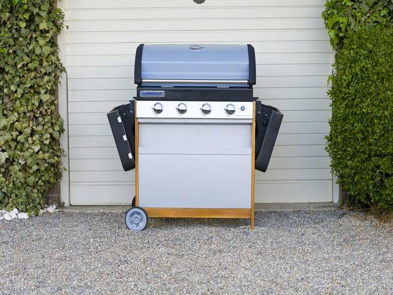 Obrázek galerie pro produkt Campingaz 4 Series Woody LX + AKČNÍ SET, Zahradní plynový gril /2000015645/