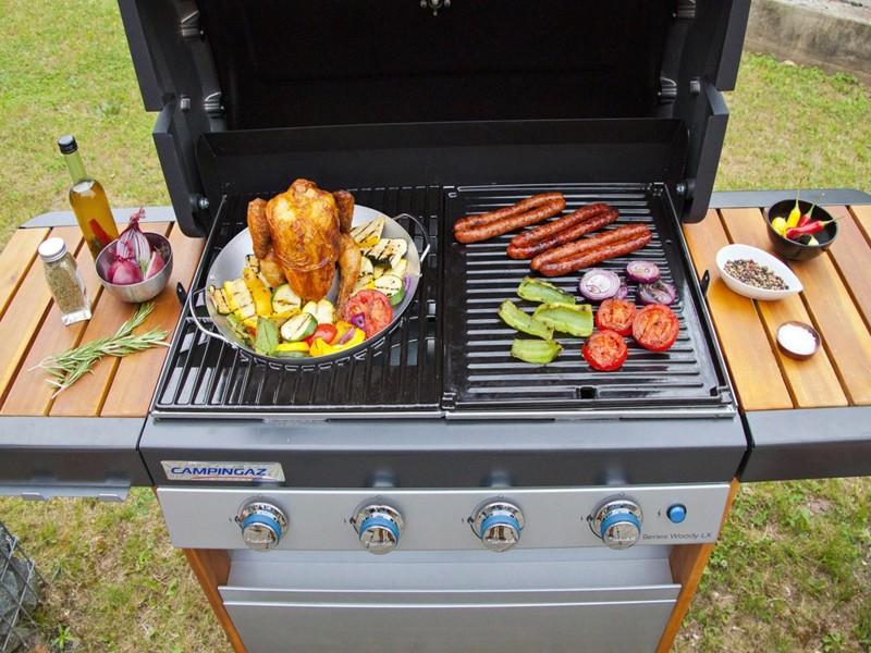 Obrázek galerie pro produkt Campingaz Culinary Modular Poultry Roaster /2000014576/ Pečící stojan na drůbež pro rošt Culinary