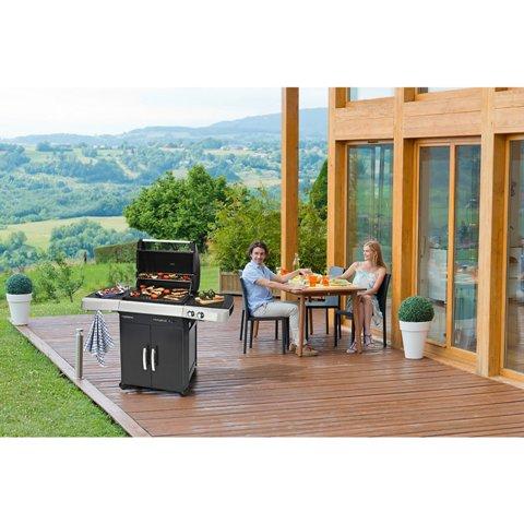 Obrázek galerie pro produkt Campingaz 2 Series RBS LX INT + AKČNÍ SET, Zahradní plynový gril, litinový rošt Culinary Modular /2000025143/