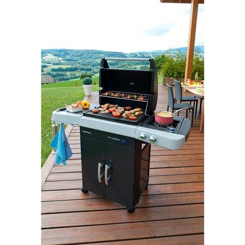 Obrázek galerie pro produkt Campingaz 2 Series RBS LXS INT + Obal, Stojan na drůbež, Paella a více, Zahradní plynový gril /2000025147/