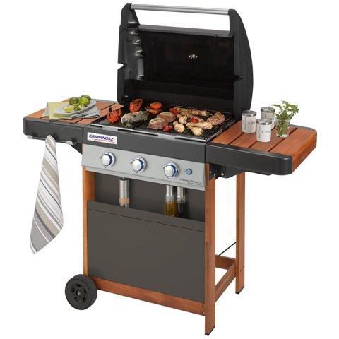 Obrázek galerie pro produkt Campingaz 3 Series Woody LD INT + AKCE DÁRKY, Zahradní plynový gril /2000029252/