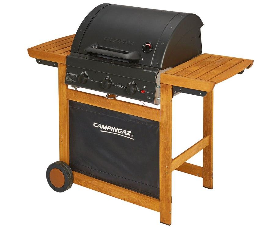 Obrázek galerie pro produkt Campingaz Adelaide 3 Woody L + AKCE DÁRKY, Zahradní plynový gril s litinovým roštem /3000004974/