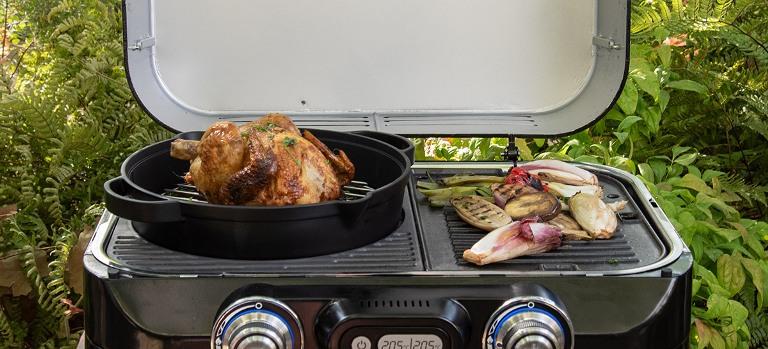 Obrázek galerie pro produkt Campingaz 2000035416 Culinary modular Litinový hrnec s roštem pro zahradní grily