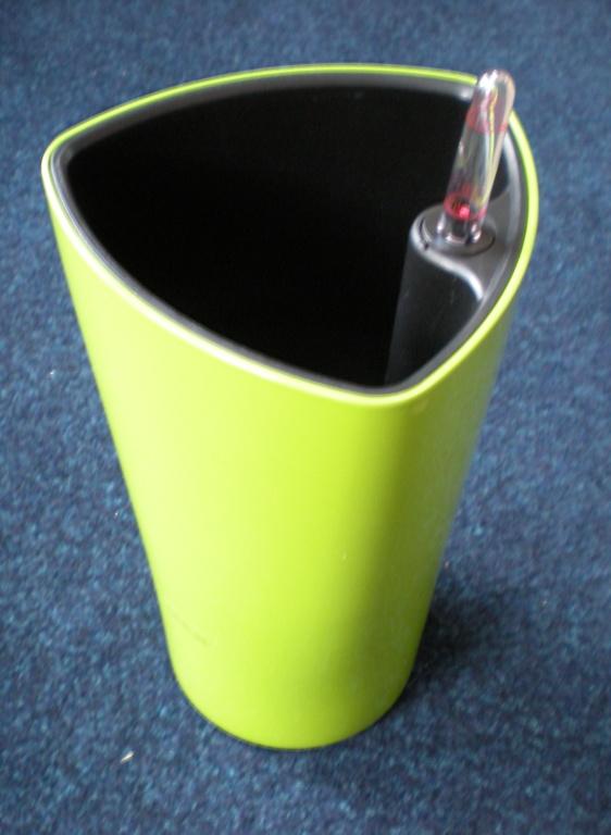Obrázek galerie pro produkt Samozavlažovací květináč G21 Trio mini zelený 15cm
