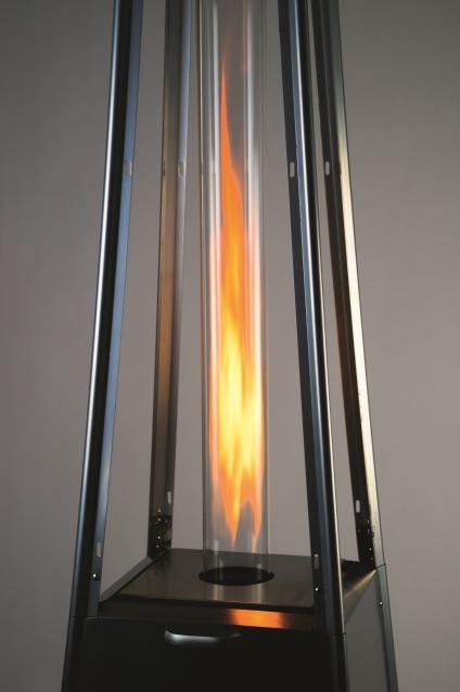 Obrázek galerie pro produkt Activa Cheops + AKCE Dárek, Designové plynové zahradní topidlo 10,5kW