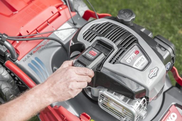 Obrázek galerie pro produkt AL-KO Premium 520 VSI-B 119948 + AKCE Zprovoznění a více, Benzínová sekačka s elektrostartem a regulací pojezdu, B&S 675 iS