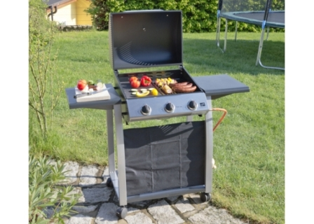 Obrázek galerie pro produkt G21 Texas BBQ + AKCE Dárek, Zahradní plynový gril se třemi hořáky