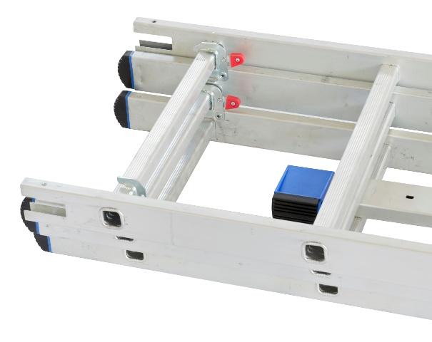 Obrázek galerie pro produkt G21 GA-H-3x9 Hliníkový žebřík 3-dílný 5,9m, štafle