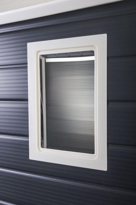 Obrázek galerie pro produkt G21 PAH 670 šedý + AKCE, Velký zahradní domek na nářadí 2,4 x 2,8 m, tvrzený plast