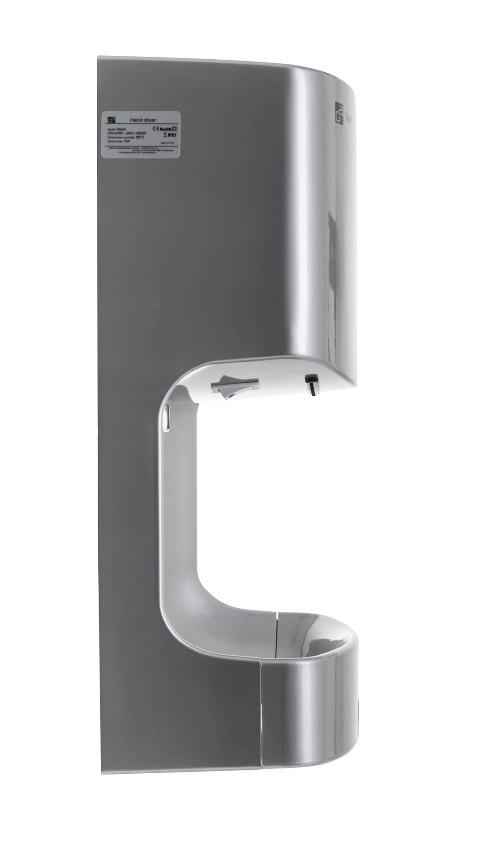 Obrázek galerie pro produkt G21 Rapid Silver 635356 Bezdotykový osoušeč rukou stříbrný