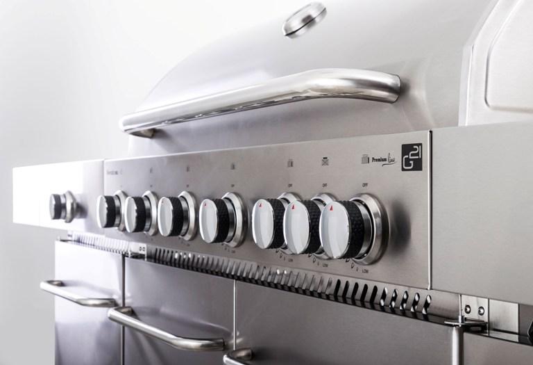 Obrázek galerie pro produkt G21 Nevada BBQ Premium Line + AKCE Dárek, BBQ zahradní kuchyně s plynovým grilem a dřezem