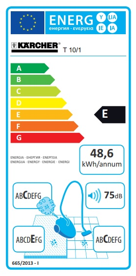 Obrázek galerie pro produkt Kärcher T 10/1 *EU 1.527-150.0 Průmyslový vysavač pro suché vysávání + ZÁRUKA 36M
