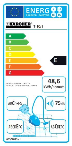 Obrázek galerie pro produkt Kärcher T 10/1 *EU Professional + AKCE Záruka 36M, Průmyslový vysavač pro suché vysávání 1.527-150.0