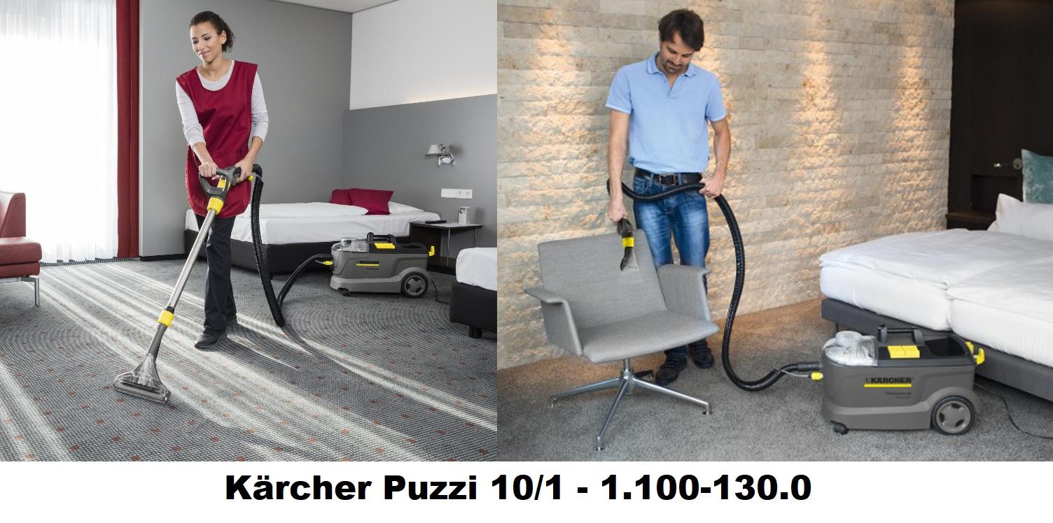 Obrázek galerie pro produkt Kärcher Puzzi 10/1 + AKCE Záruka 3 roky, Profi tepovač, extraktor na koberce a čalounění 1.100-130.0