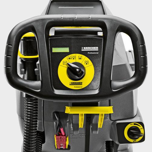 Obrázek galerie pro produkt Kärcher BD 50/50 C Classic Bp 1.127-001.0 Podlahový aku mycí stroj s odsáváním + Baterie, dobíječka a lišta 900mm