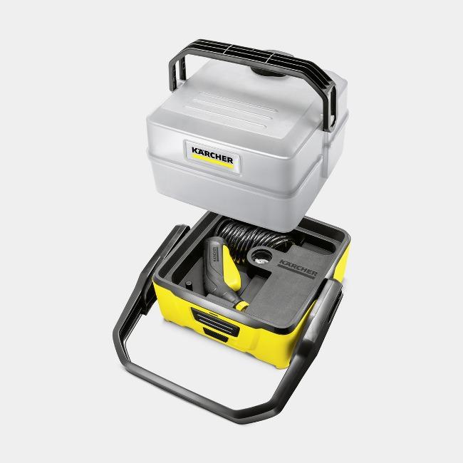 Obrázek galerie pro produkt Kärcher OC 3 Plus Car 1.680-034.0 + AKCE%, Mobilní aku tlaková myčka se 7 litrovou nádrží na vodu