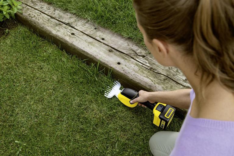 Obrázek galerie pro produkt Kärcher GSH 18-20 1.444-200.0 Aku nůžky na trávu (bez baterie)