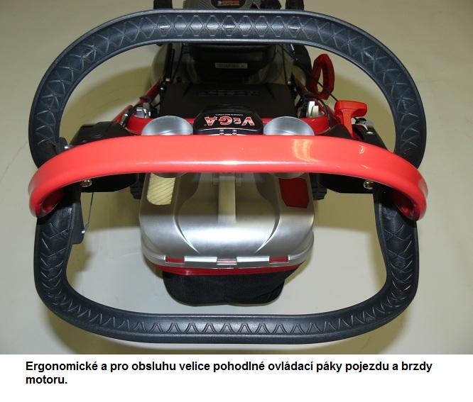 Obrázek galerie pro produkt VeGA 485 SXHE 7in1 + DÁREK, Benzínová sekačka s elektrickým startem