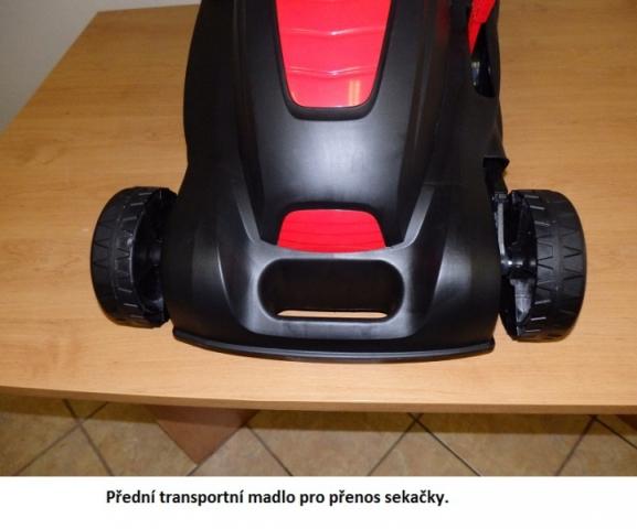 Obrázek galerie pro produkt VeGA GT 3805 Elektrická sekačka bez pojezdu se záběrem 38cm