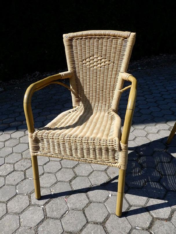 Obrázek galerie pro produkt VeGA AXEL SET 6-AL Zahradní stolová sestava nábytku z umělého ratanu