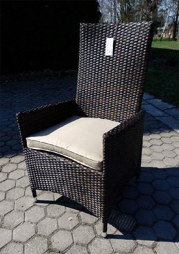 Obrázek galerie pro produkt VeGA Monaco SET 6-AL Zahradní stolová sestava nábytku z umělého ratanu