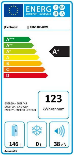 Obrázek galerie pro produkt ELECTROLUX ERN1400AOW Vestavná lednice monoklimatická A+,87cm