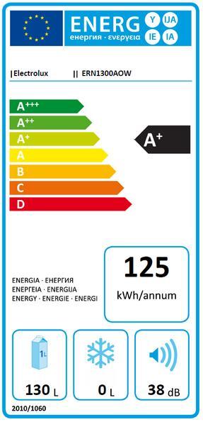 Obrázek galerie pro produkt Electrolux ERN1300AOW Vestavná lednice jednodveřová A+, 82cm