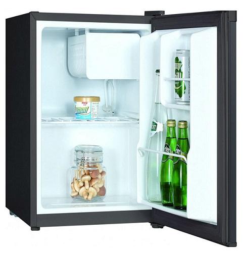 Obrázek galerie pro produkt Crown CM-49B Minibar s mrazící přihrádkou, výška 51cm, černý