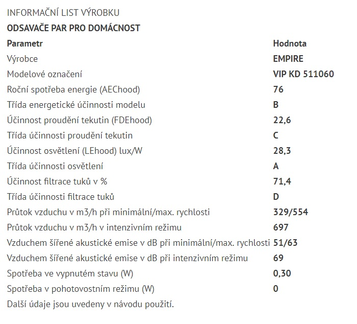 Obrázek galerie pro produkt Cata Empire VIP KD 511060 + Dárek%, Digestoř komínová nerez 60cm + Dálkové ovládání