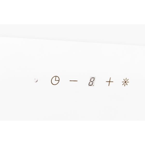 Obrázek galerie pro produkt Cata Empire VIP KD 536060 + AKCE%, Digestoř komínová 60cm, nerez/bílé sklo, 822m3/hod
