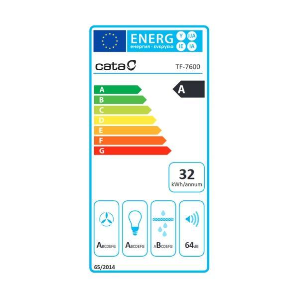 Obrázek galerie pro produkt Cata TF 7600 + AKCE%, Digestoř výsuvná nerez, 60cm, 710m3/hod