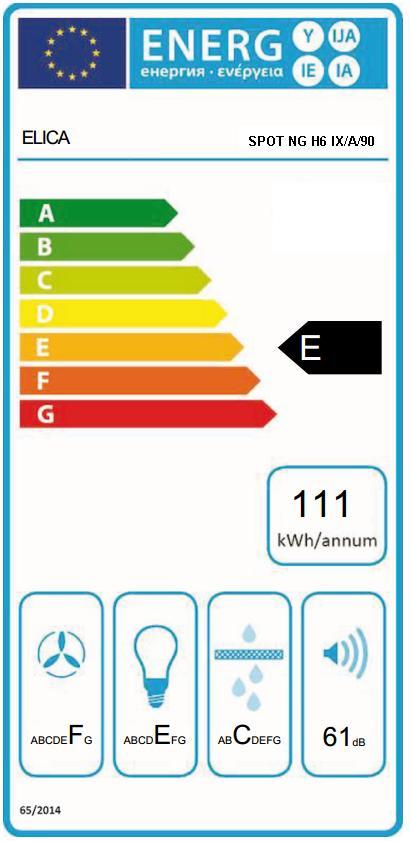Obrázek galerie pro produkt Elica Spot NG H6 IX/A/90 Digestoř komínová 90cm + DÁREK a záruka 5 LET