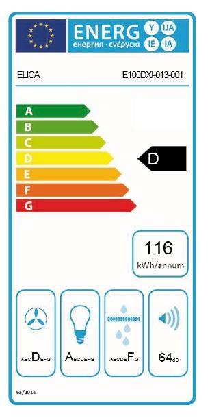 Obrázek galerie pro produkt Elica FILO IX/A/90 + AKCE, Digestoř vestavná 90cm, nerez/bílé sklo