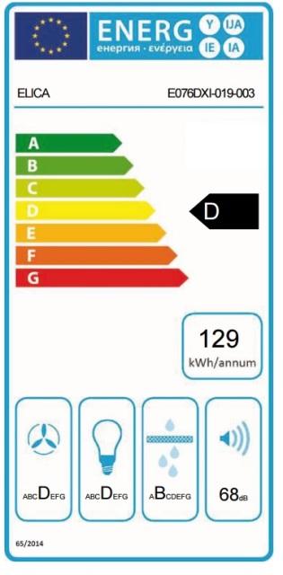 Obrázek galerie pro produkt Elica Tube Pro WH MAT/A/43 + DÁREK, Digestoř komínová válcová bílá, 43cm + Záruka 5 LET