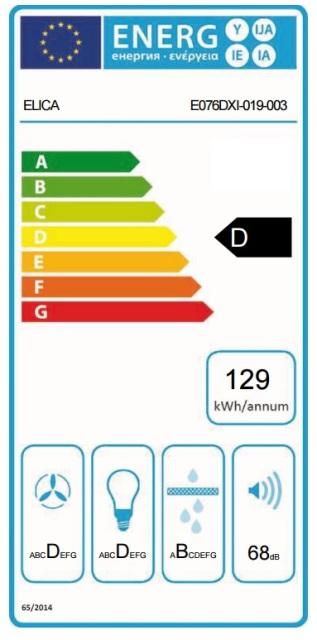 Obrázek galerie pro produkt Elica Tube Pro BL/A/43 + Dárek% a Záruka 5 let, Digestoř komínová válcová černá, 43cm