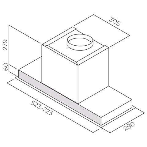 Obrázek galerie pro produkt Elica Hidden IX/A/90 + Dárek% + Záruka 5 LET, Digestoř vestavná 90cm