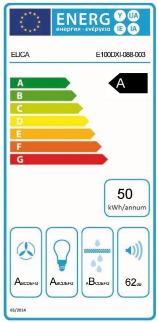 Obrázek galerie pro produkt Elica Spot Plus IX/A/60 + AKCE, Digestoř komínová 60cm, nerezová ocel