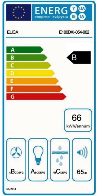 Obrázek galerie pro produkt ELICA LOL BL/A/60 + AKCE, Digestoř komínová 60cm (reliéfní černá) + Záruka 5 LET