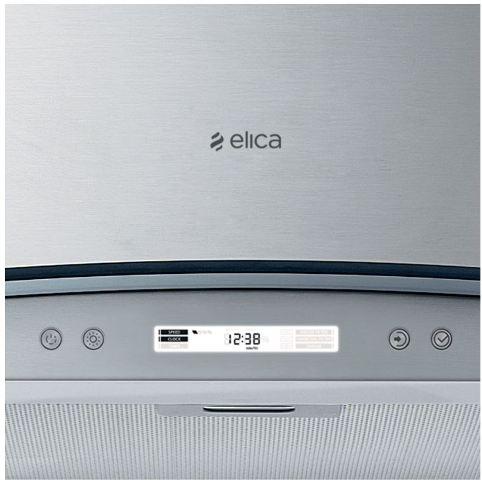 Obrázek galerie pro produkt Elica Circus Plus IX/A/90 + Dárek% a Záruka 5 let, Komínový odsavač par 90cm, nerez/sklo