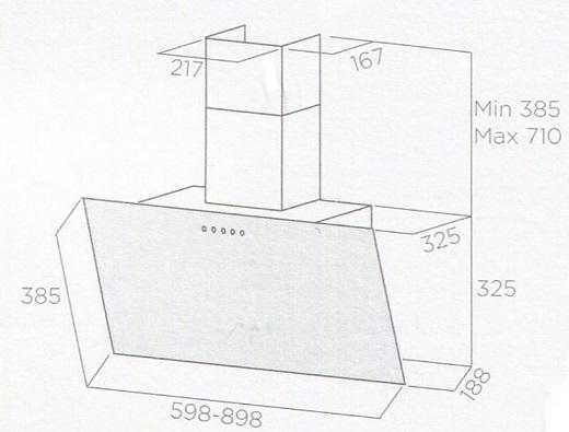Obrázek galerie pro produkt Elica Shire WH/A/90 + DÁREK, Digestoř nástěnná 90cm, bílá/bílé sklo + Záruka 5 LET
