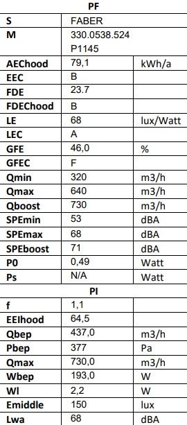 Obrázek galerie pro produkt Faber Steelmax EV8 BK/X A55 + AKCE Záruka 5 let, Komínová digestoř šikmá 55cm, nerez/černé sklo