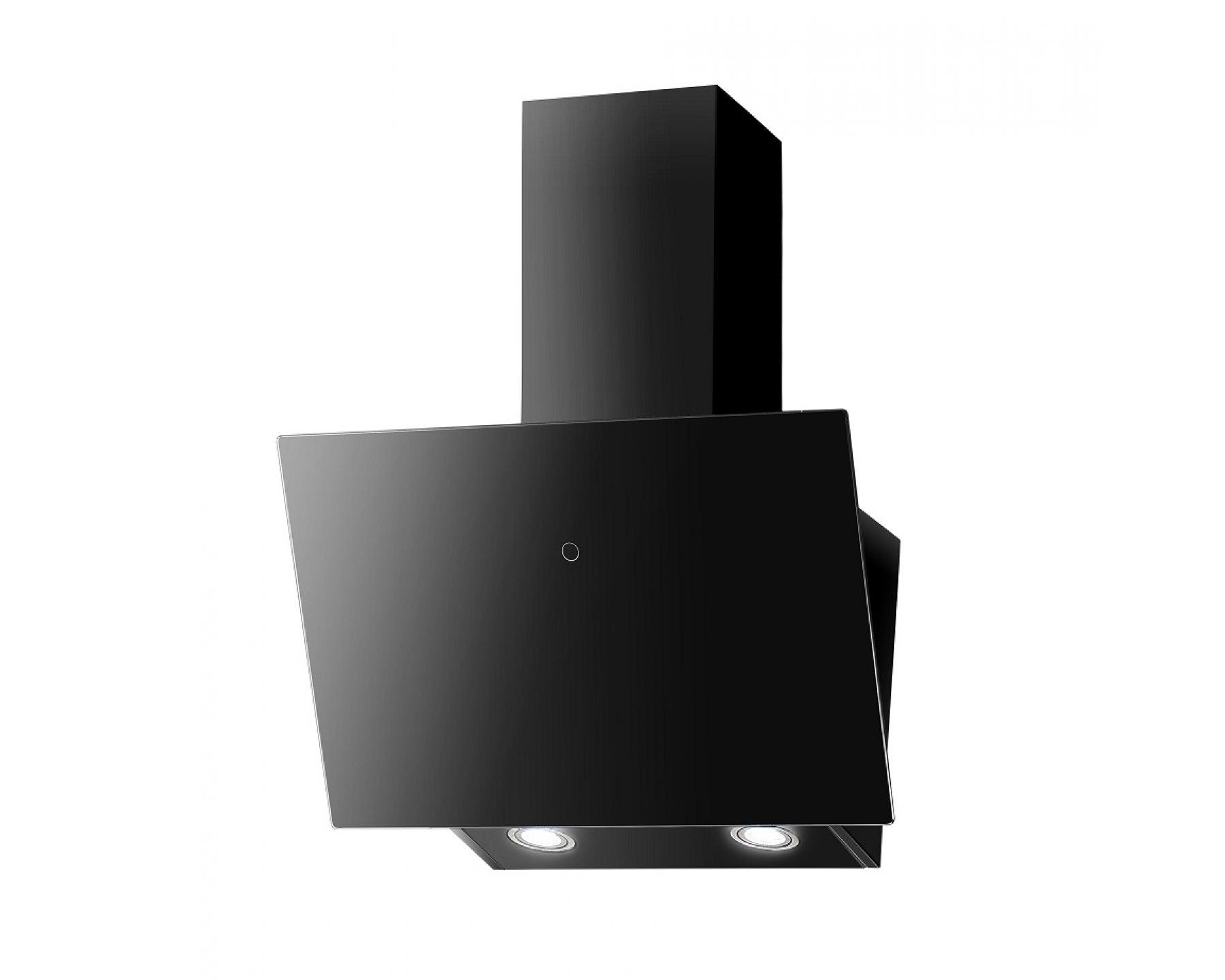Obrázek galerie pro produkt Faber VRT BK A60 + AKCE, Digestoř šikmá 60cm, černá/černé sklo, 580m3/hod