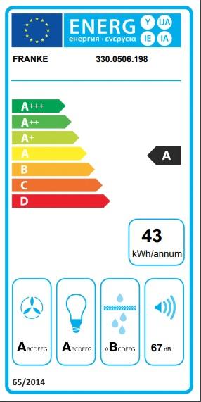 Obrázek galerie pro produkt Franke FSFL 605 WH + DÁREK%, Komínová digestoř Franke Smart Flat 60cm, bílá