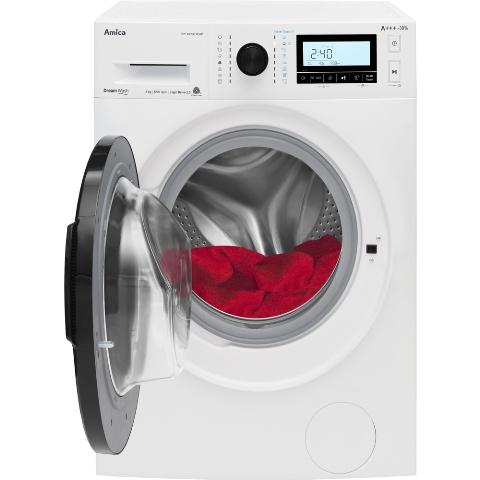 Obrázek galerie pro produkt Amica PPF 82233 BSW SteamTouch + AKCE, Parní pračka 8kg, A+++,1200ot/min, Přidání prádla Add+