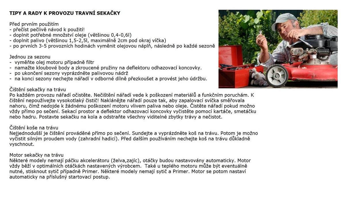 Obrázek galerie pro produkt AL-KO Highline 527 VS + Olej, zprovoznění a více, Benzínová sekačka s regulací pojezdu /119770/, B&S 675 EX