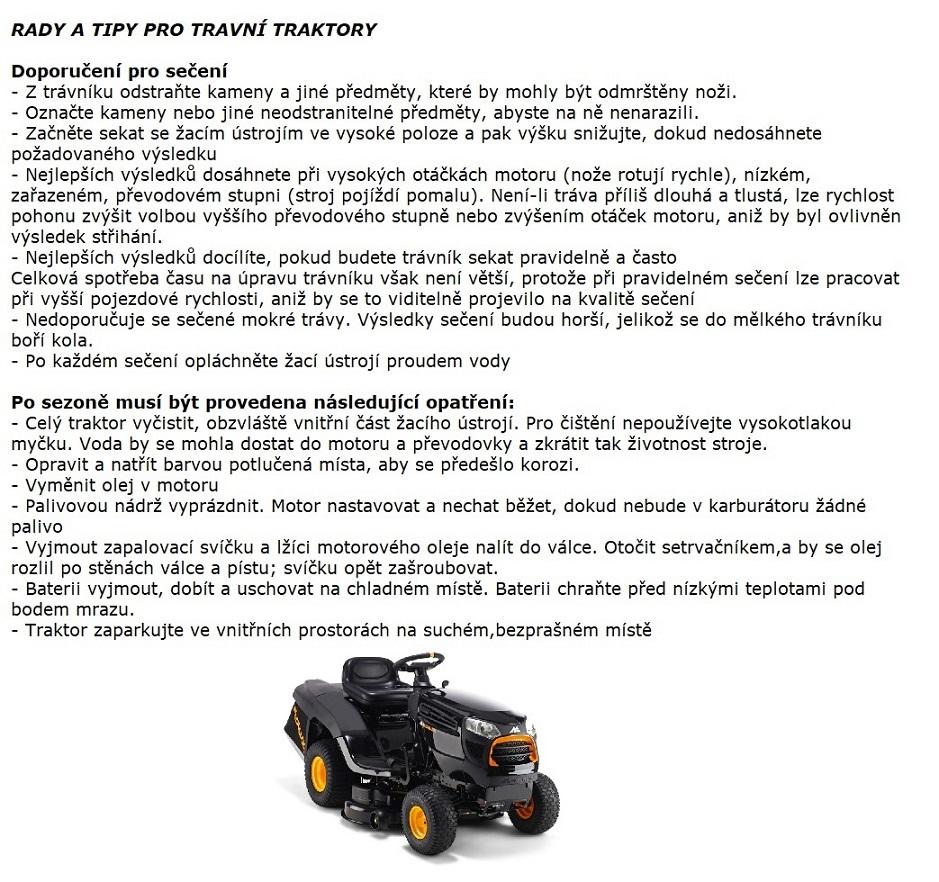 Obrázek galerie pro produkt Solo by AL-KO T 13-93.7 HD Comfort 127416 + AKCE Zprovoznění, Zahradní travní traktor s košem, B&S Powerbuild