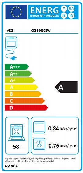Obrázek galerie pro produkt AEG Mastery CCB56400BW SteamBake Sklokeramický sporák bílý 50cm + Dárek