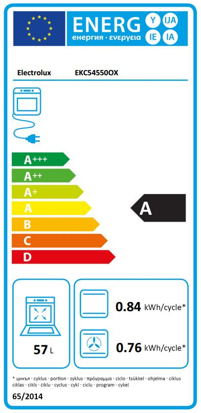 Obrázek galerie pro produkt Electrolux EKC54550OX Sklokeramický sporák nerez 50cm