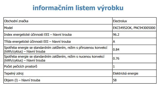Obrázek galerie pro produkt Electrolux EKC54952OK PlusSteam Sklokeramický sporák černý 50cm